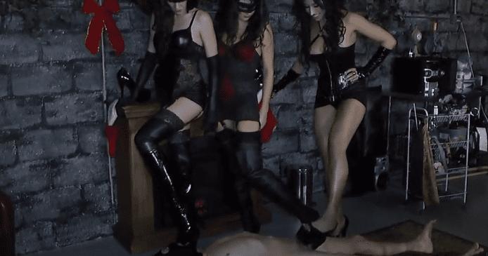 3 fem dom torture me