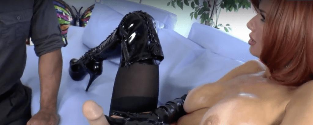 femdom strap on