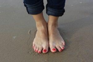 foot beach